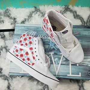 Vans Sk8-HI Flowers 💐😍♥ (cl)